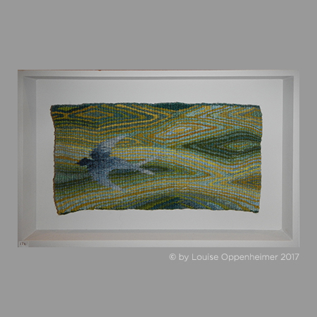 Louise Oppenheimer. Tapestry Weaving 'Swallow'