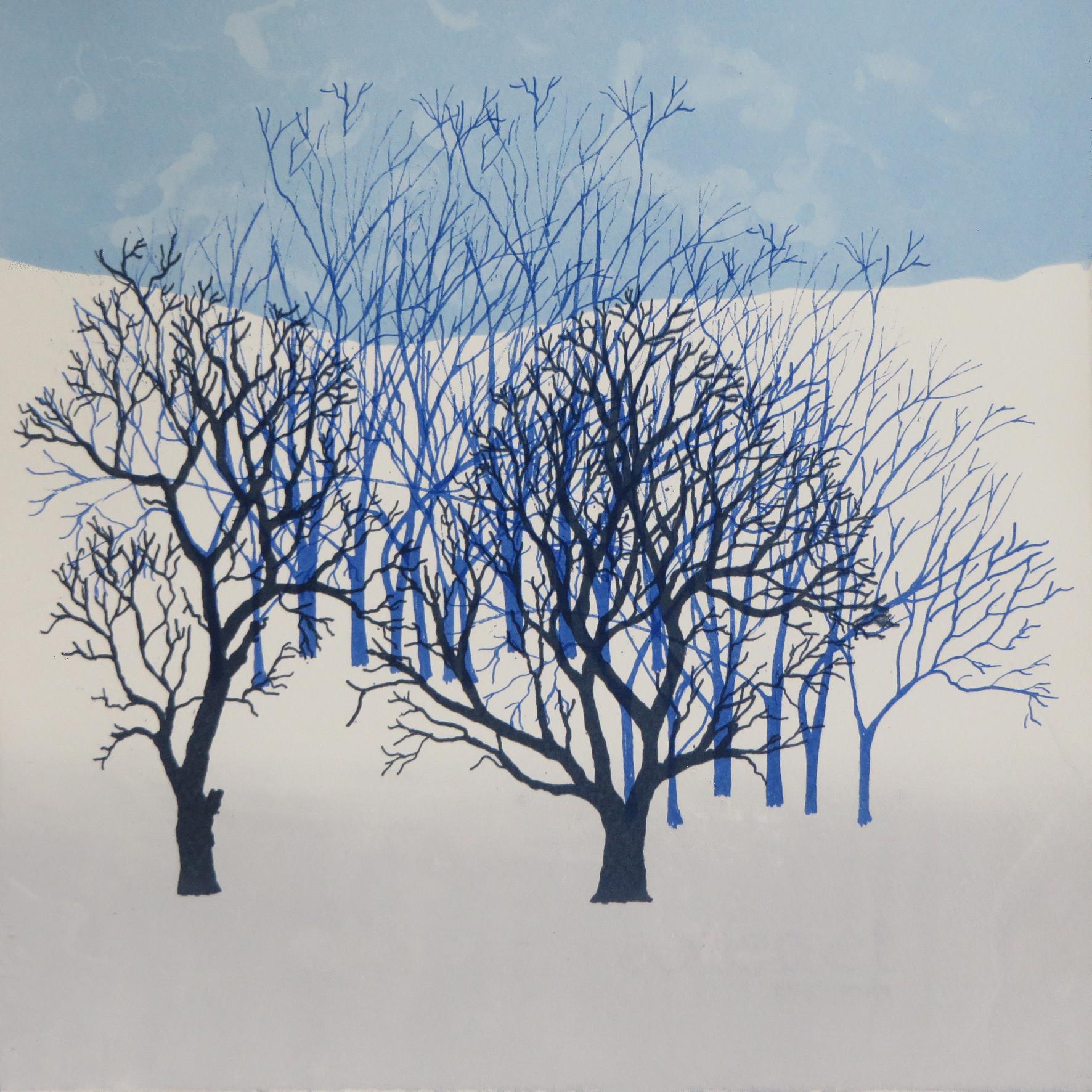 Rona MacLean. Screen Print. Winter Cop