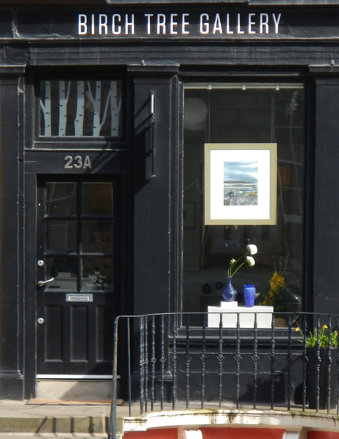 Birch Tree Gallery, 23A Dundas Street, Edinburgh, EH36QQ