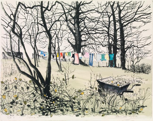 Pamela Grace - Spring Wash (lithograph)