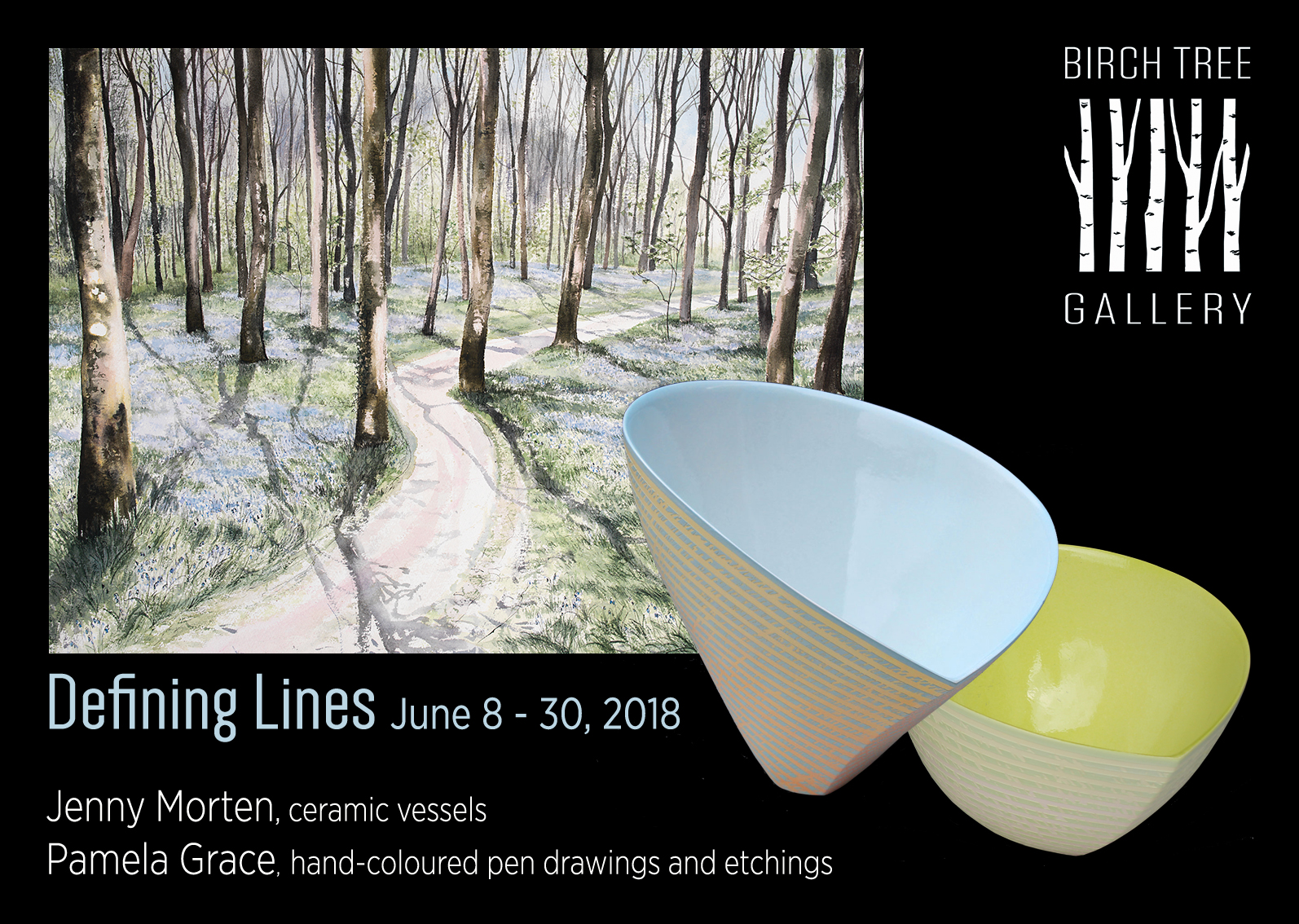Birch Tree Gallery: Defining Lines