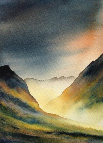 Ian Scott Massie. Glencoe 40 x 30cm