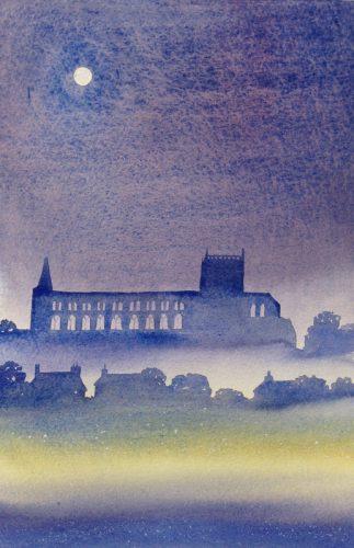 Ian Scott Massie. Jedburgh Abbey 40 x 30 cm