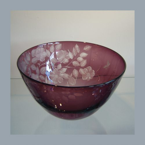 Julia Listead. Amethyst dogrose deep bowl