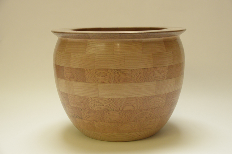 Tony King. 156 Utile & Cherry segmented bowl
