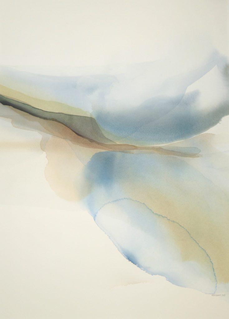 Peter Davis. Atla Scord, Watercolour on paper 2018 (70x50cm)