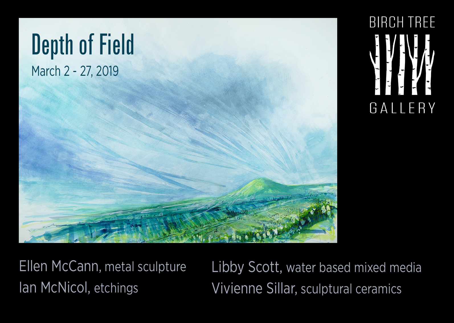 Birch Tree Gallery - ad Depth of Field