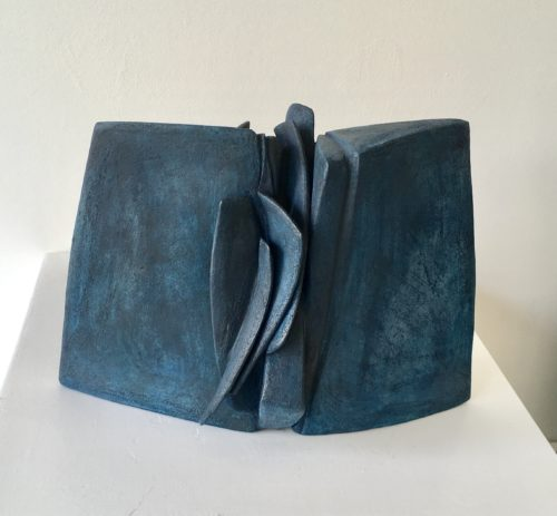 Ellen McCann. Blue Rock Fracture 3