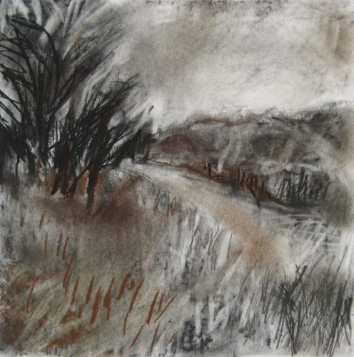 Rosedale-II-Janine-Baldwin-pastel-charcoal-and-graphite-on-paper-22-x-22cm-£19