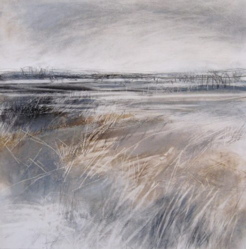 Soft-Snow-II-Janine-Baldwin-pastel-charcoal-and-graphite-on-paper-34-x-34cm