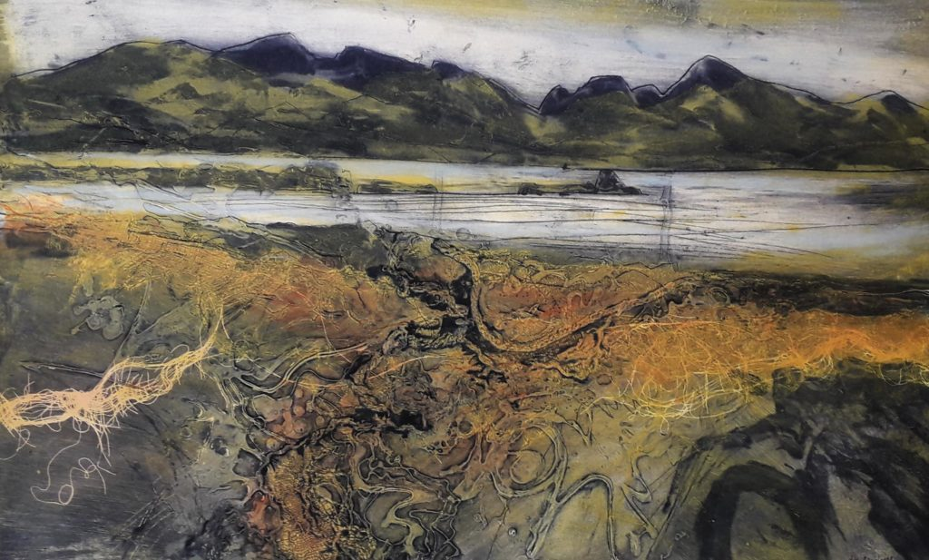 Liz Myhill. A Walk in the Hebrides ix