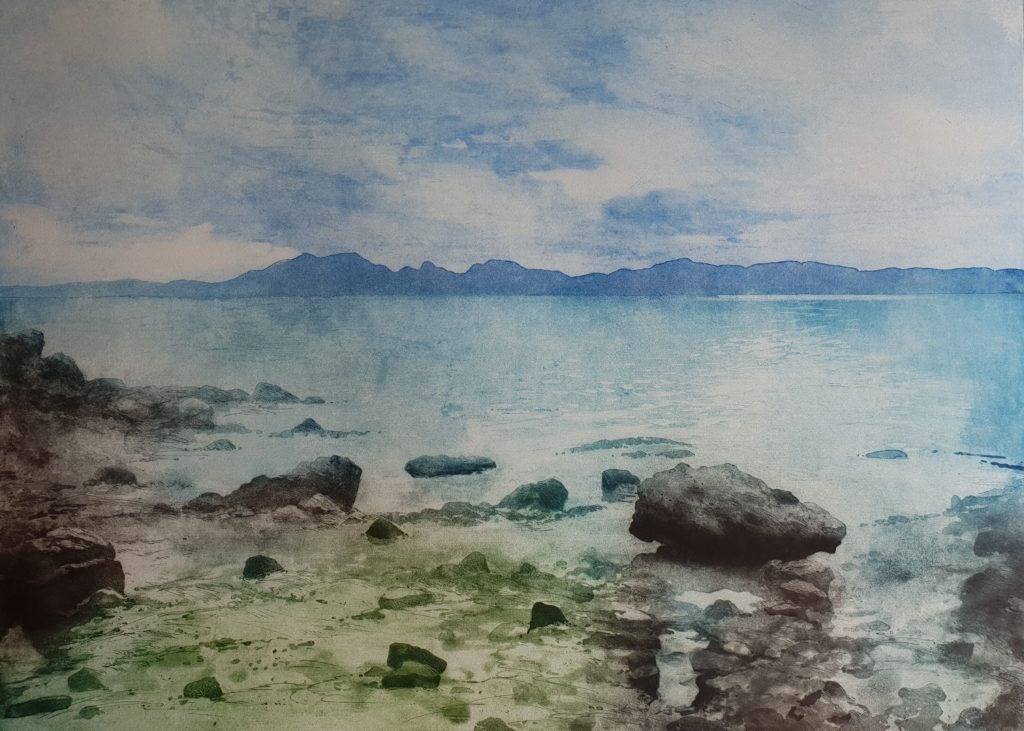 Gregory Moore 'Across to Arran'