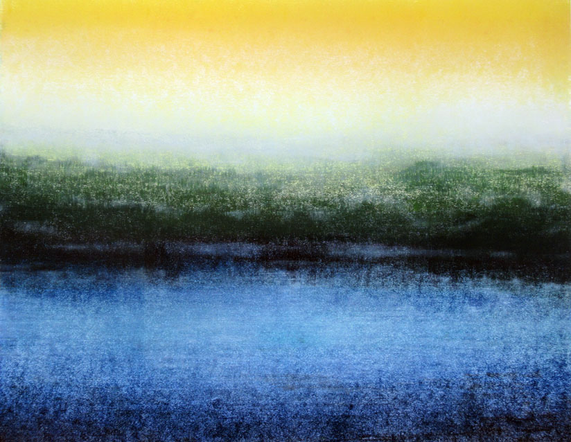 Ian McNicol Scottish Loch 2 (monotype)