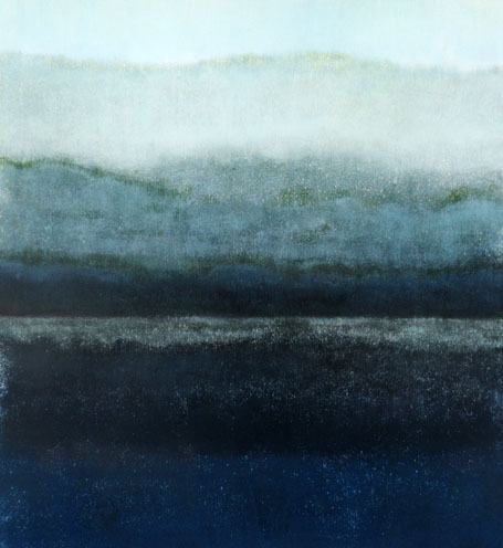 Ian McNnicol. Scottish Loch 3 - monotype