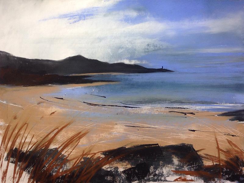 Helen Fryer. Bold Light, Sanna. 43x49.