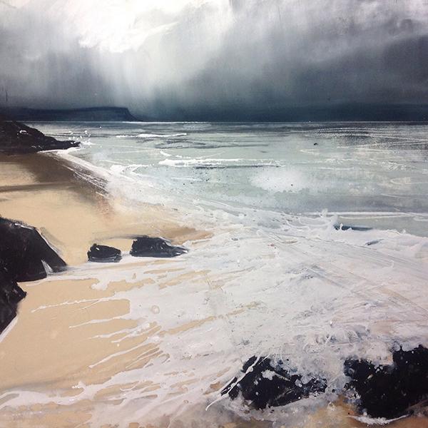 Helen Fryer. Morar Surf. 48x48. £1700