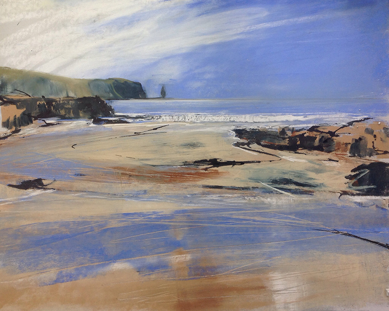 Helen Fryer. Summer Sandwood. 59x48.