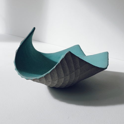 Michele Bianco. Flight vessel (sea green, overlap)