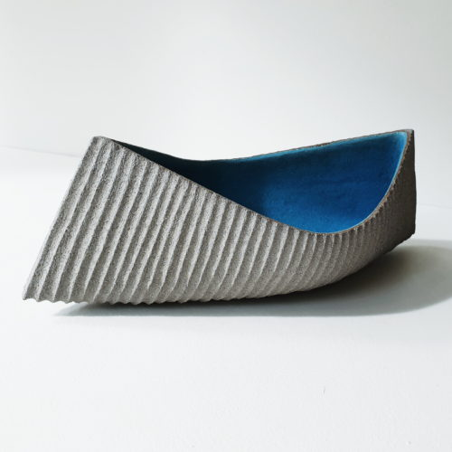 Michele Bianco. Drift vessel (sky blue)