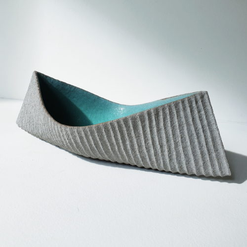 Michele Bianco. Drift vessel (sea green)