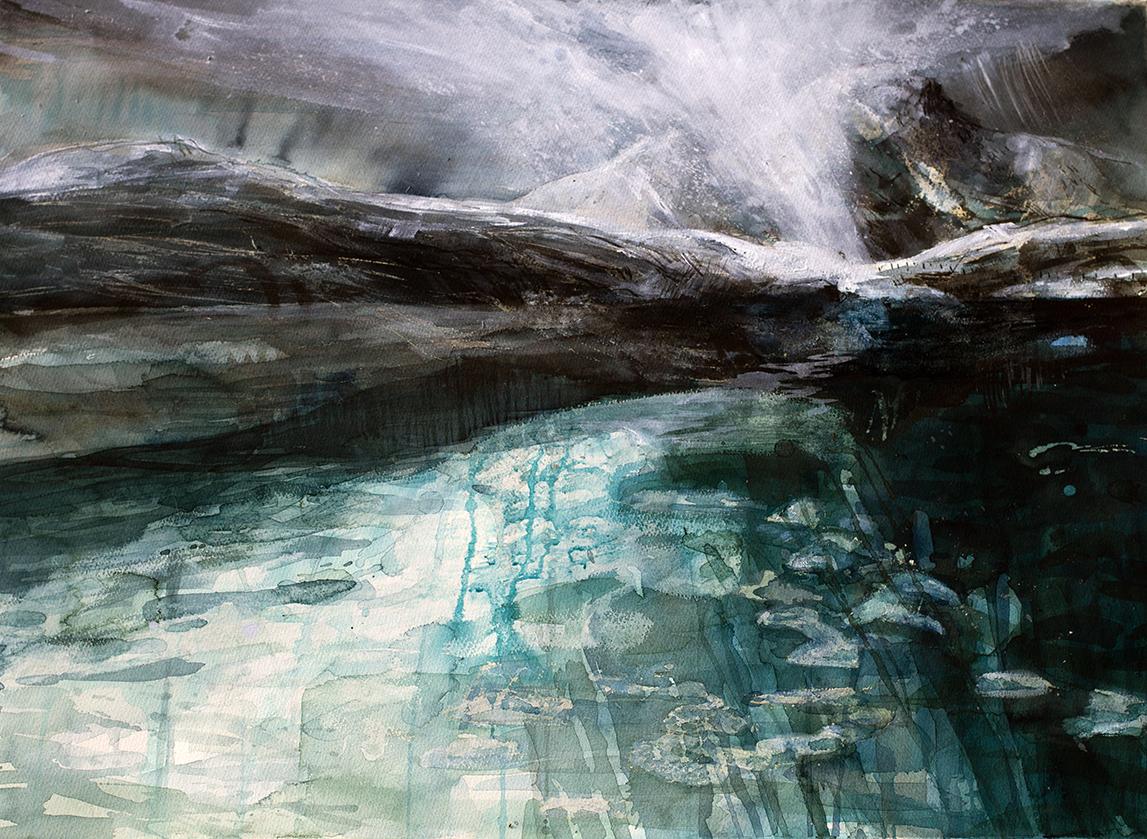 Liz Myhill. Waterlogged