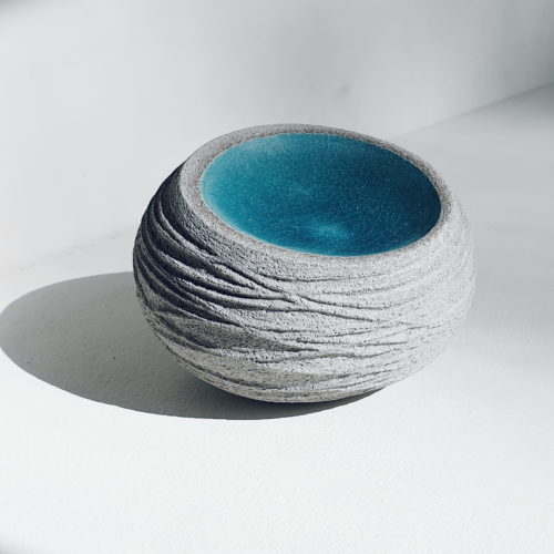 Michele Bianco. Nest form (sky blue)