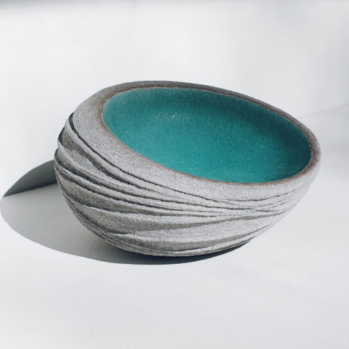 Michele Bianco. Nest Form (sea green)