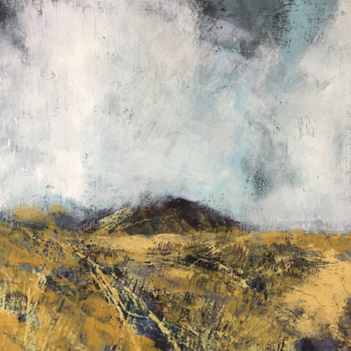 Penny Hunt. Cool Winds 33x33cm gazed
