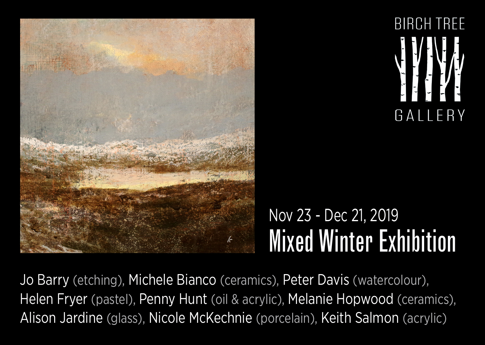 Birch Tree Gallery - ad Mixed Winter Exhibition