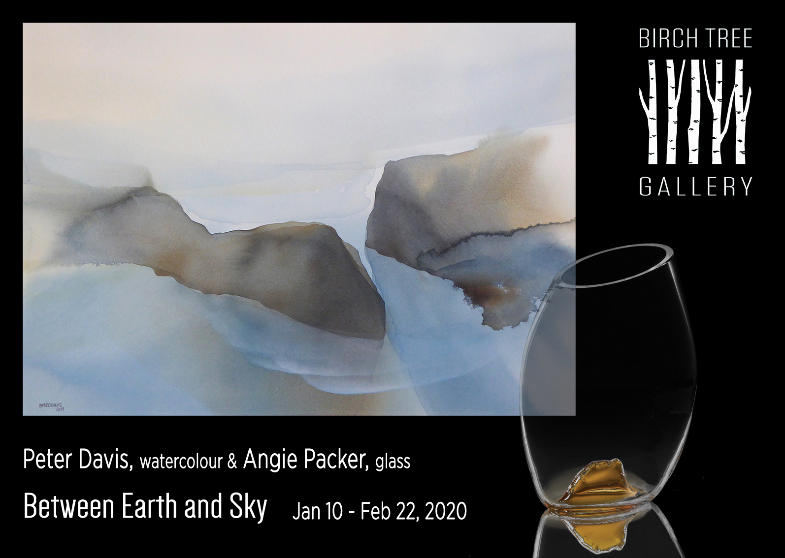 Birch Tree Gallery - ad Between Earth and Sky