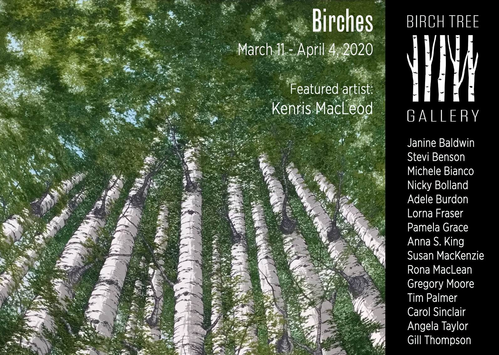 Birch Tree Gallery - ad Birches (anniversary)