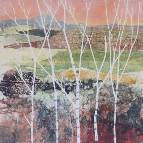 Adele Burdon. Birches I