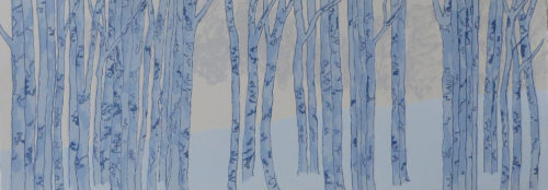 Rona MacLean 'Winter Birches'