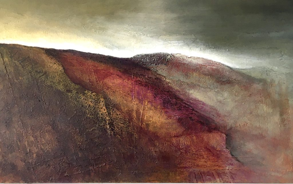 Glynnis Carter. Evening Light 76x122cm