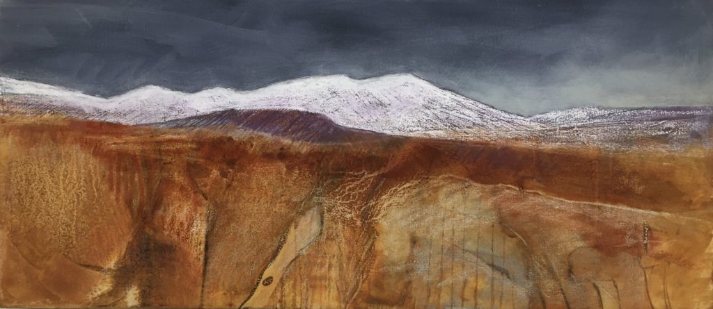 Glynnis Carter. First Snow 40x90cm