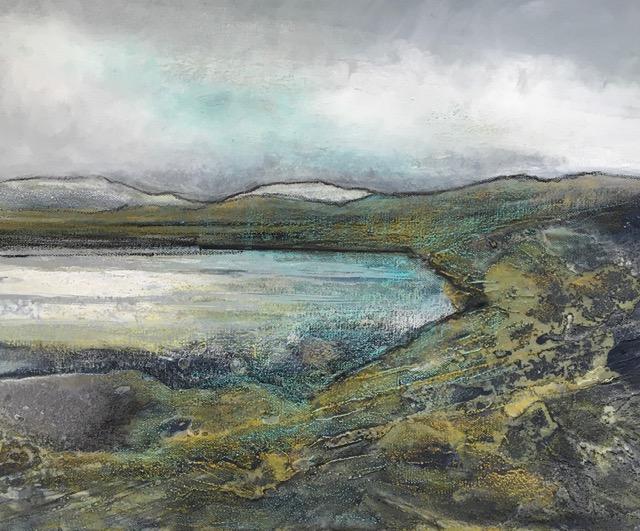 Glynnis Carter. Sea Loch 40x50cm