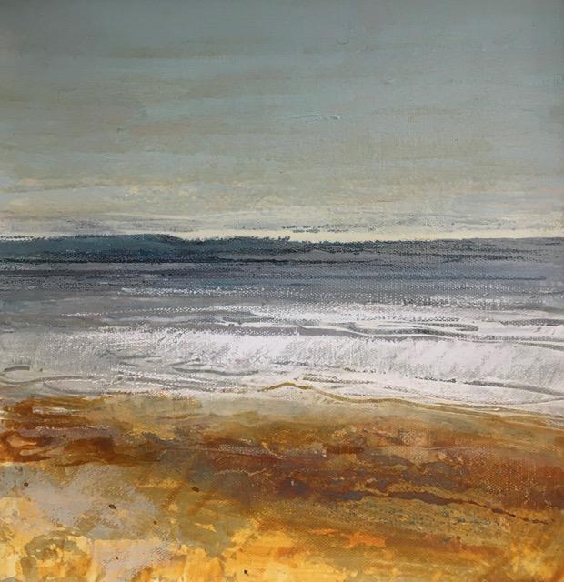 Glynnis Carter. Shoreline 30x30cm