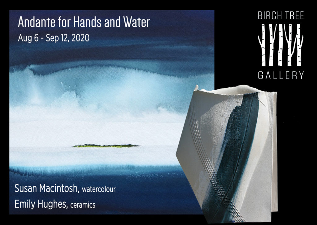 Birch Tree Gallery. Exhibition 'Andante for Hands and Water'