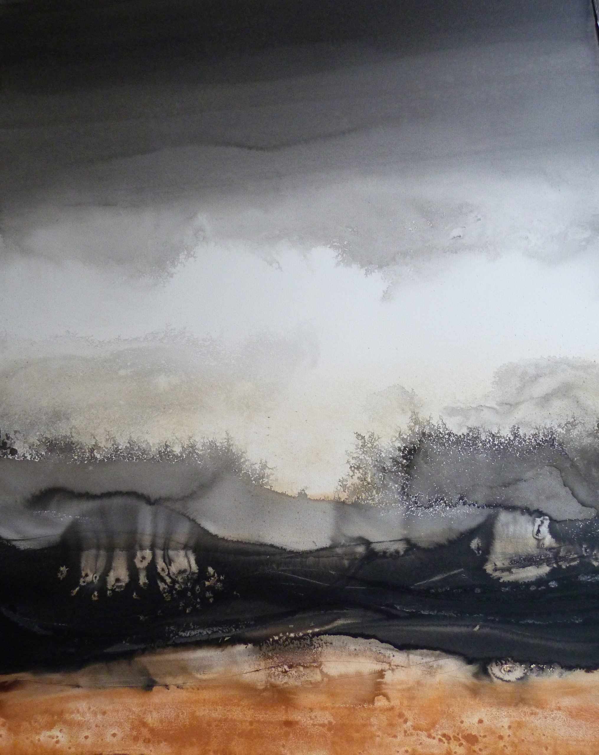 Clearing by Susan Macintosh 107x140 unframed