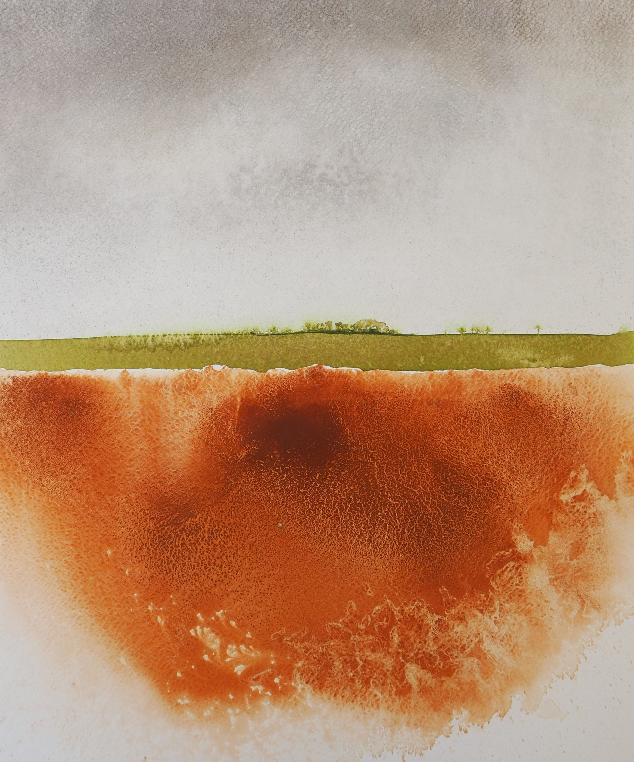 Susan Macintosh. Red Earth, East Lothian