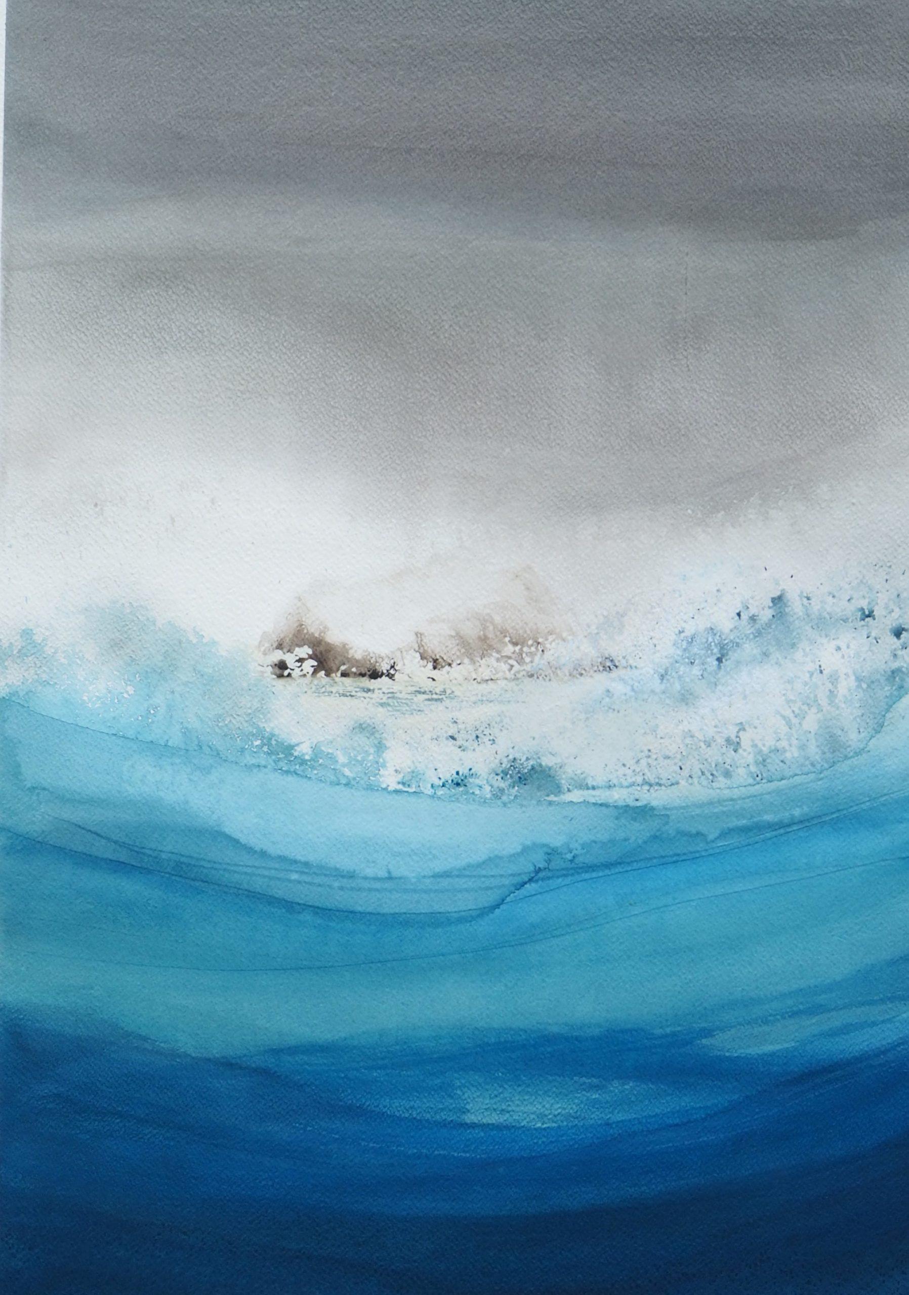 Susan Macintosh. Squall Passing, St. Kilda
