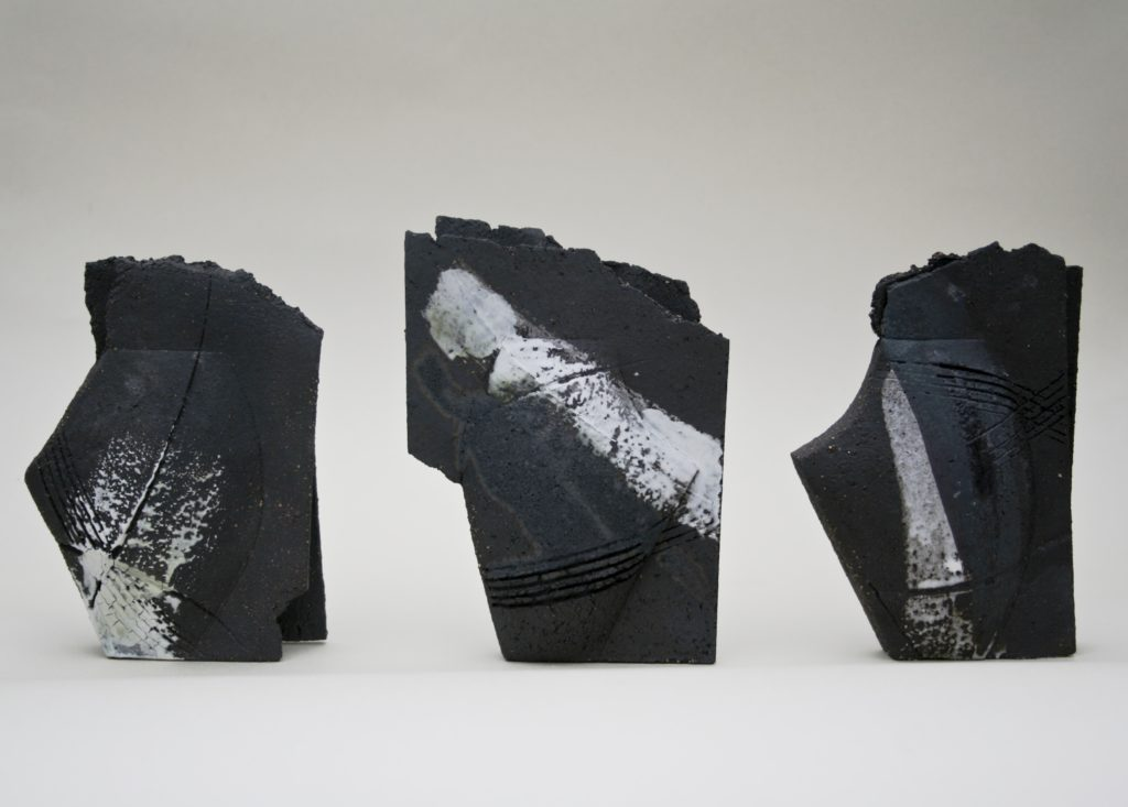 Emily Hughes. Mini Vulcan Black vessels