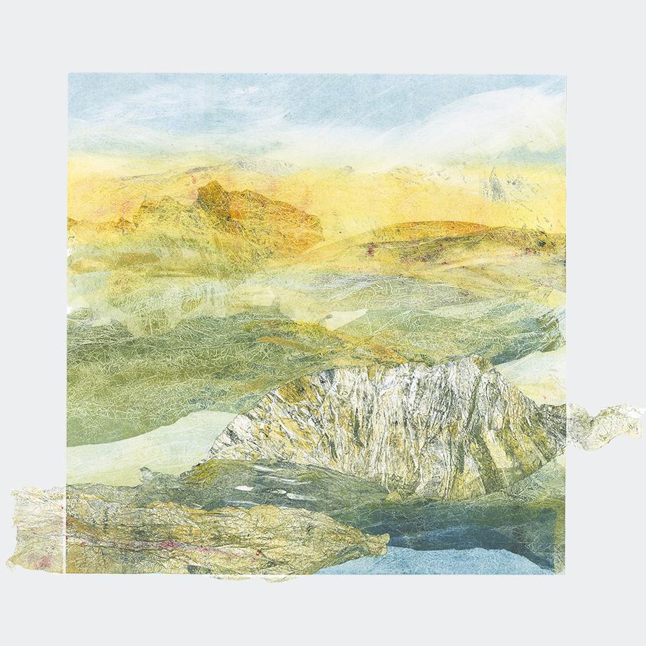 Adele Burdon. Golden Hue 50 x 50 cm