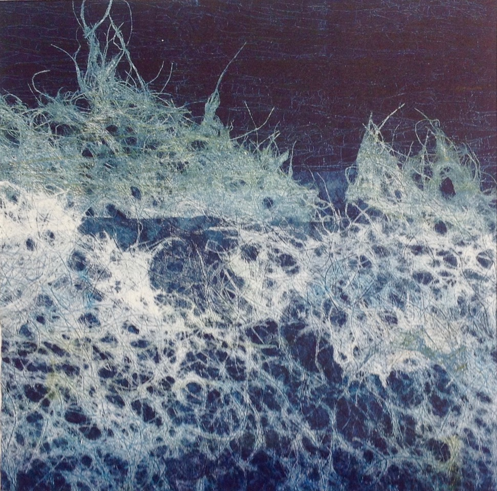 Adele Burdon. Water 25 x 25 cm
