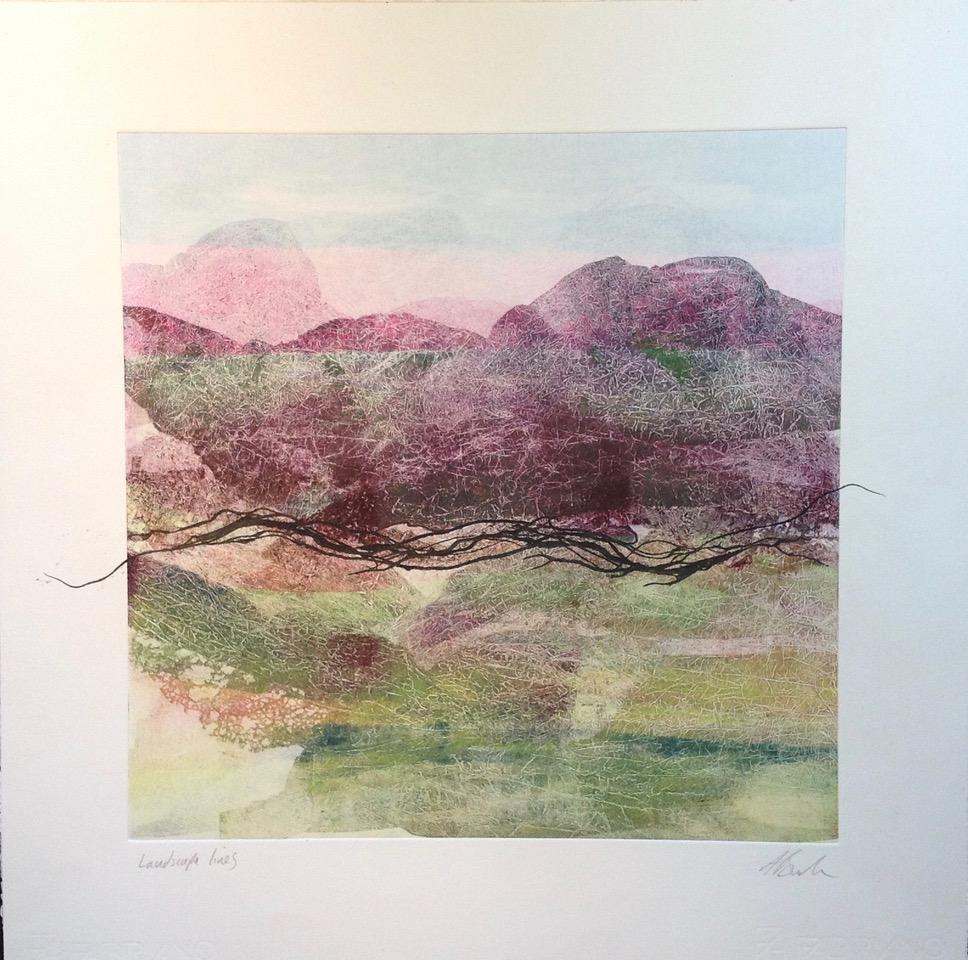 Adele Burdon. Landscape Lines