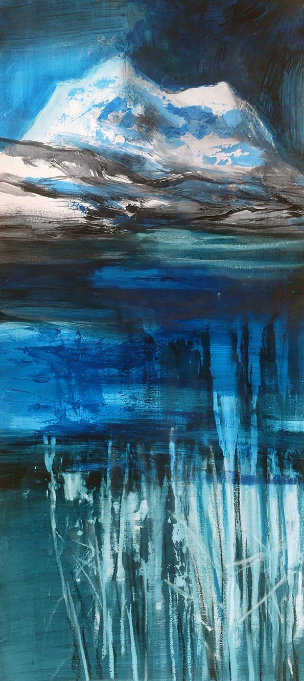 Liz Myhill. 'Ice Edged Loch'