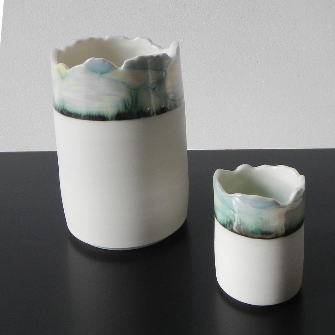 GIllian McMillan. Landscape vessels