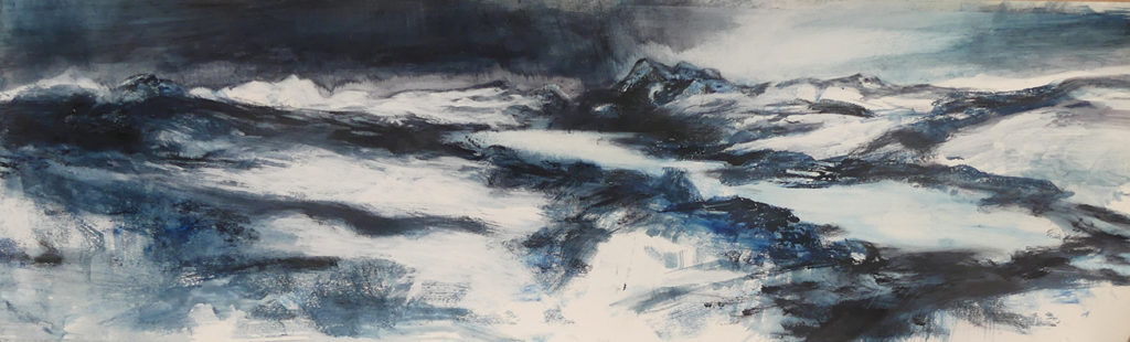Liz Myhill. 'The Mountains Beyond'