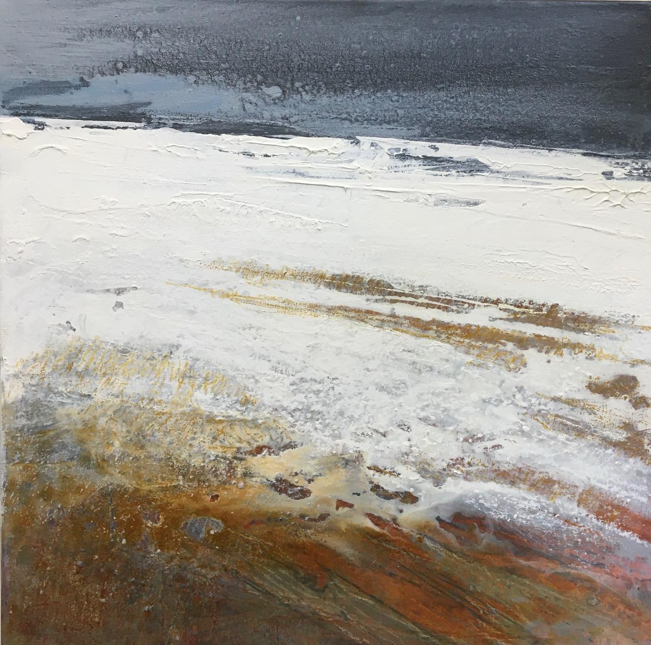 Glynnis Carter. 'Winter Horizon' 50 x 50 cm