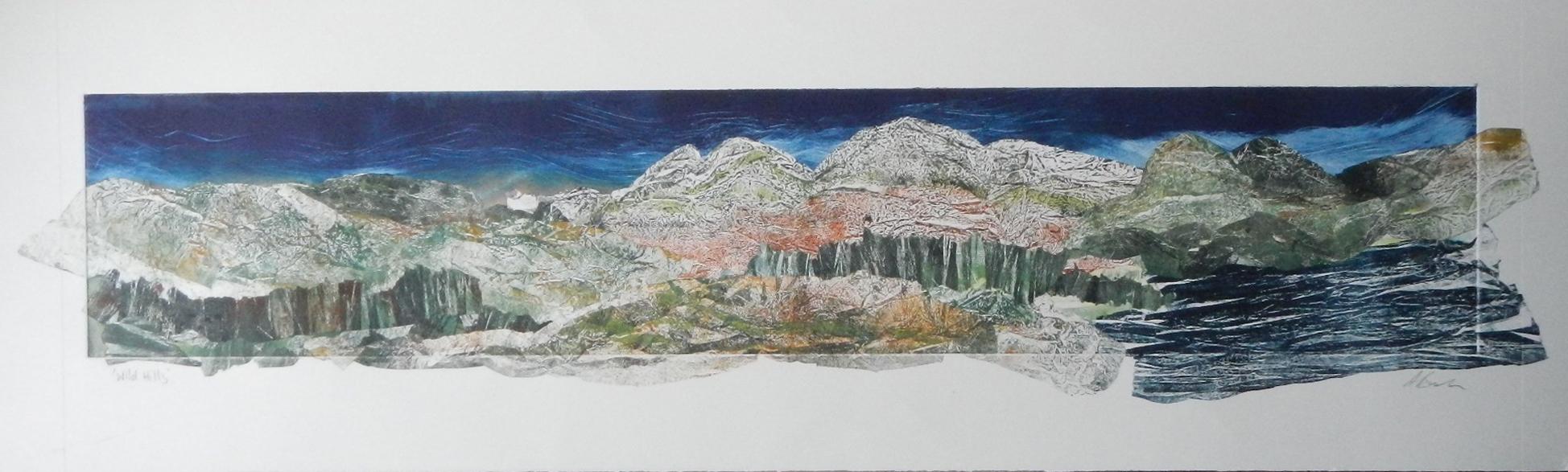 Adele Burson. 'Wild Hills' unframed